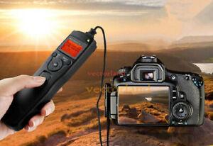 Time lapse intervalometer remote timer shutter for Canon DSLR 500D 450D Camera