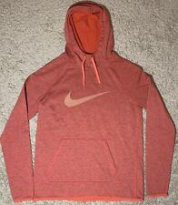 New listing NWOT Nike Burnt Orange Women's Size Small Dri-Fit Hoodie w/ Front Pocket