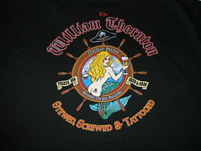 William Thornton Pirate Bar Shirt British Virgin Islands Screwed Tattooed 2XL