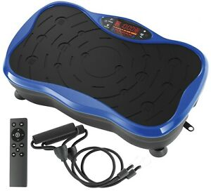 Whole Body Vibration Platform Plate Fitness Machine with Resistance Bands