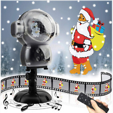 JEENSO Snow Falling Animated Projector Outdoor Halloween Christmas Decorations