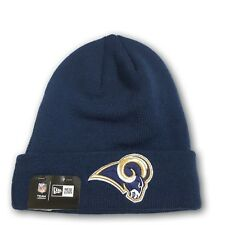Los Angeles Rams Folded Navy Blue Beanie NFL New With Tags OSFM