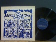 REDHILL MADRIGAL SINGERS  Madrigals Anthems & Carols LP   LOVELY COPY !