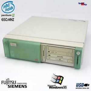 FSC Fujitsu Siemens SCENIC xB Computer PC RS-232 Parallel DT6- D1184 Pentium 3