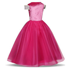 Sleeping Beauty Aurora Princess Girls Kids Fancy Dress Up Party Cosplay Costume