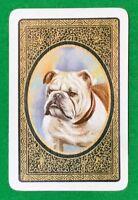 Playing Cards 1 Single Card Old Vintage ENN English Named DALMATIAN Dog