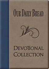Our Daily Bread Devotional Collection Leather Bound Christian Bible Devotion NEW