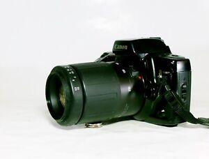 Getestete Canon  EOS 10 mit Tamron Zoom Objektiv 1:4,5 bis 5,8   f=80-210mm AF