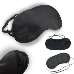 Blindfold Sleep Eye Mask Travel Shade Blinder Soft Elasticated Sleeping Rest Aid
