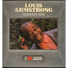 Louis Armstrong ‎Lp Vinile Greatest Hits I ♥ Jazz / CBS 21058 Nuovo