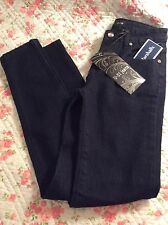 Girls U-51 Skinny Jeans Dark Denim size 12 NWT Bling CUTE KJL212  FREE SHIPPING