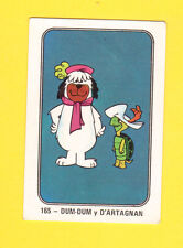 Touche Turtle & Dum Dum Dog 1960s Hanna Barbera Cartoon Card from Spain #165
