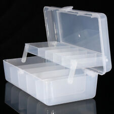Boîte de Pêche Hameçon Rangement Double Multi-section Leurre Stockage Pêcher
