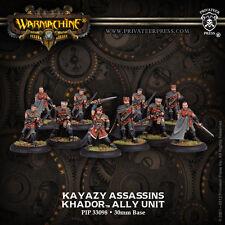 Warmachine BNIB - Khador Allies Kayazy Assassins (10)  REPACK