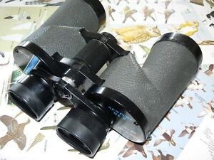 SWIFT NEWPORT MkII 10 x 50 EXTRA WIDE FIELD PORROPRISM BINOCULARS -VERY COMPLETE