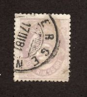 Norway - Sc# 28 Used (appears to be repaired tear) / Lot 1018081