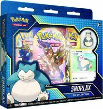 Pokemon TCG Snorlax Pin Collection Box