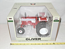 White Oliver 1955 With Duals  Toy Tractor Times Anniversary Chase Unit Edition