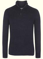 Tommy Hilfiger Herren Pullover Sweater Strick Gr.XL Wolle Seide Navy Blau 88462