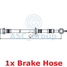 APEC BRAKING 540mm Scheibe Bremssattel flexibel GUMMISCHLAUCH hos4081