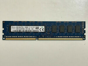 Hynix 8GB PC3L-12800E DDR3-1600Mhz 1.35V 240Pin ECC Unbuffered UDIMM Memory Ram