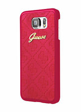 GUESS Scarlett Hard Case for Samsung Galaxy S6 Red (GUHCS6SCRE)