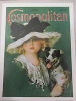 "Cosmopolitan Magazine 18/""x24/"" Art Poster Print 1915 Harrison Fisher Cover"