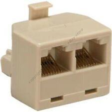 Lot10 RJ45 Ethernet Splitter/Y/T cable/cord/wire Adapter for Cat5e Network$SHdis