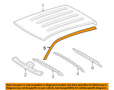 TOYOTA OEM 05-15 Tacoma Roof-Drip Molding Left 7555204063