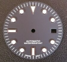Dial for ETA 2836 ETA 2824 movement Submariner Diver style 29.5 mm
