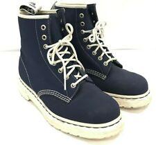 Dr Martens Boots Ladies UK7 E40 Blue Leather High Top Laces 291853