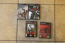 God of War, Devil May Cry 3, Red Faction, Max Payne