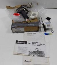 BINKS MODEL 2001,2001V AND 2001SS SPRAY GUN *PZB*