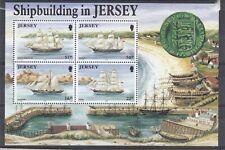 Blok Zeilschepen Jersey 1992 MNH