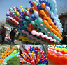 100pcs Twist Spiral Latex Balloons Wedding Kids Birthday Party Decor Toy Gift