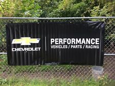 Chevrolet Performance Vehicles / Parts / Racing Banner App 8' x 3.5'