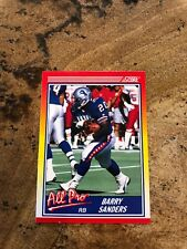 1990 Score Barry Sanders Detroit Lions #580 Football Card