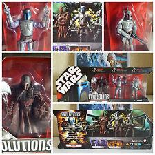 Guerra de las Galaxias Boba Fett evolución Set * Nuevo * 30th Aniversario Coleccionable Muy Rara!