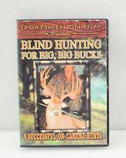 Blind Hunting For Big, Big Bucks DVD Movie