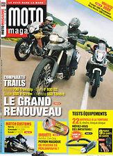 MOTO MAGAZINE N° 250 . BAT'MOTO  VN 2000  M 1800 R   700 TRANSALP  660 TENERE