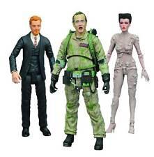 Diamond Select Ghostbusters SERIES 4 Figure Set! PECK! GOZER! SLIMED VENKMAN!