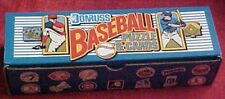 1989 Donruss Baseball Card Factory Set 660 Plus 12 Grand Slammers & Span Puzzle