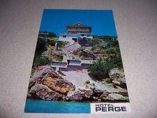 1970s HOTEL PERGE ANTALYA TURKEY VTG POSTCARD