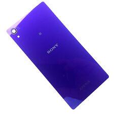 100% Original Sony Xperia Z2 Trasera Tapa De La Batería + NFC Antena espalda púrpura D6503