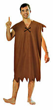 Adult Mens Barney Rubble Costume Set One Size Cosplay Outfit Fancy Dress Up New