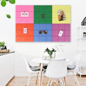Letter Note Board Message Board Creative Planning Felt Photo Display Wall Decor