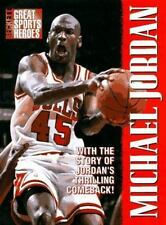 Michael Jordan Great Sports Heroes Beckett w/ Thrilling Comeback ! Hardcover