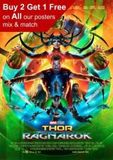 Thor Ragnarok Movie Poster A5 A4 A3 A2 A1