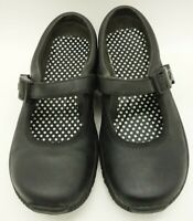 Merrell Black Mary Jane Athletic Slip On Strap Loafers Shoes Women's 6