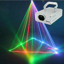 DMX 3D Effect 1050mW Red Green Blue Full color Laser Christmas Decor Light Home